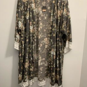 Pinkblush delivery robe NWT